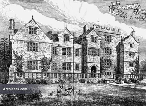 1590 – Borwick Hall, Borwick, Lancashire