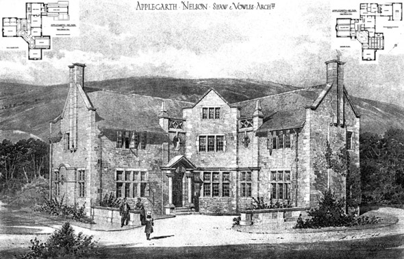 1908 – Applegarth, Nelson, Lancashire