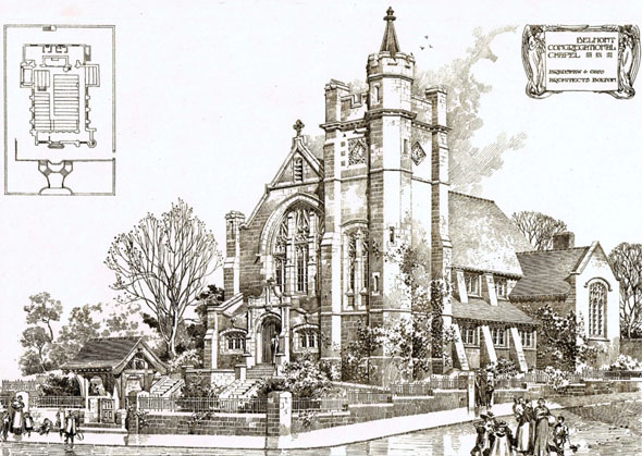 1901 &#8211; Belmont Congregational Chapel, Bolton, Lancashire