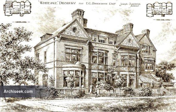 "1896 – ""Whitevale"", Didsbury, Lancashire"