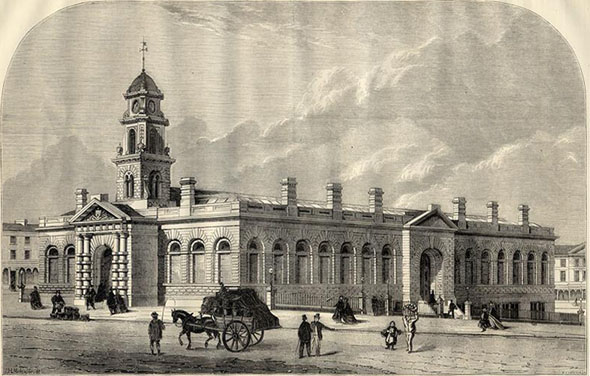 1870 – Market Hall, Burnley, Lancashire