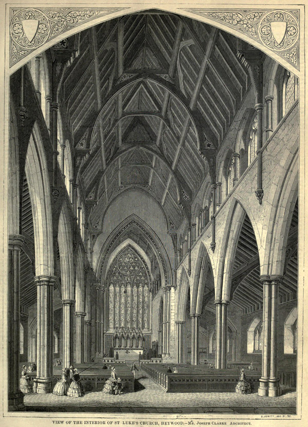 1861 – St. Luke's Church, Heywood, Lancashire