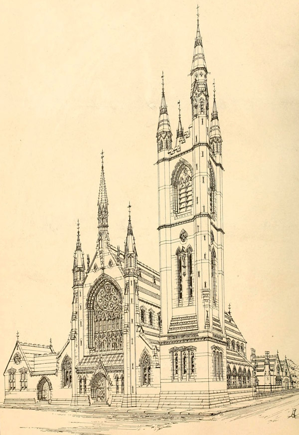 1868 – Church of St Thomas of Canterbury and the English Martyrs, Preston, Lancashire