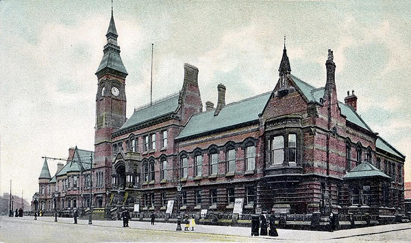 1876 – St Helens Town Hall, Lancashire