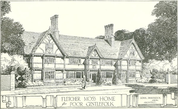 1914 – The Fletcher Moss Home, Didsbury, Lancashire