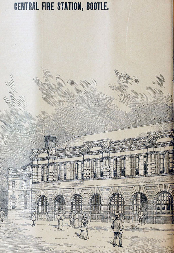 1898 – Fire Station, Bootle, Lancashire