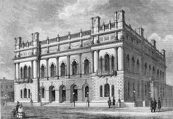 1856 – Town Hall, Blackburn, Lancashire