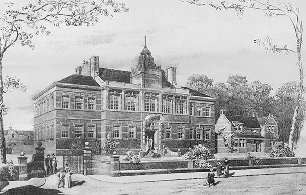 1898 – Townhall, Heaton Chapel, Lancashire