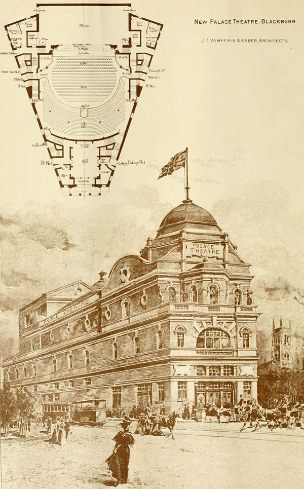 1898 – Palace Theatre, Blackburn, Lancashire