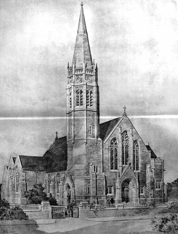 1897 – Wesleyan Church, Crosby, Lancashire