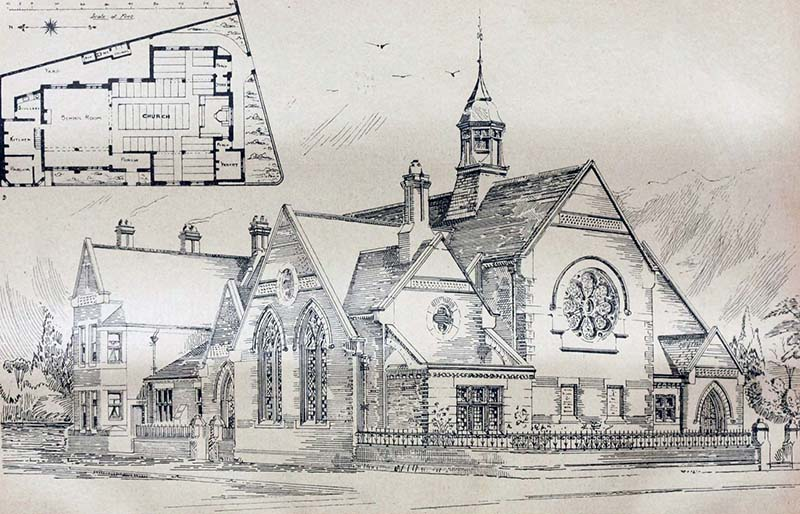 1899 – Welsh Congregational Church, Bootle, Lancashire