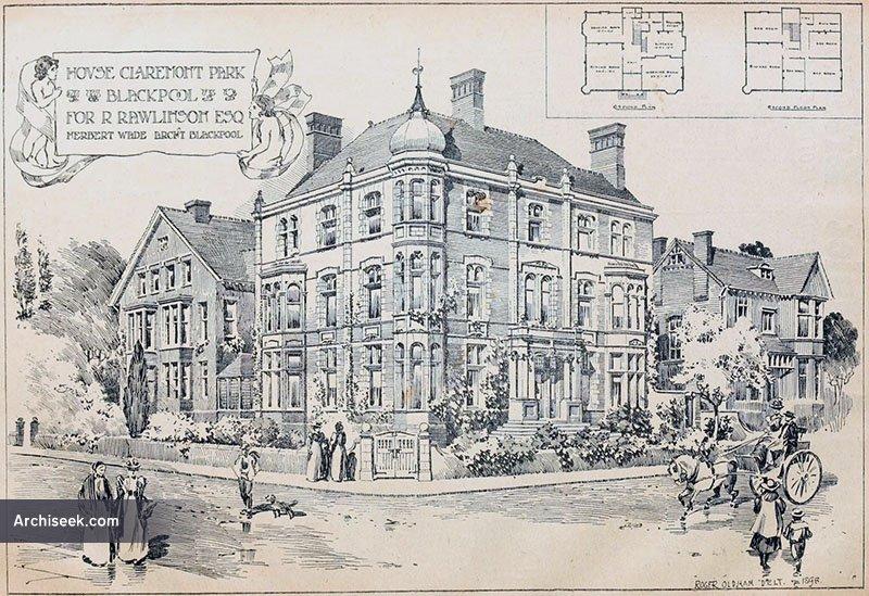 1899 – House, Claremont Park, Blackpool, Lancashire