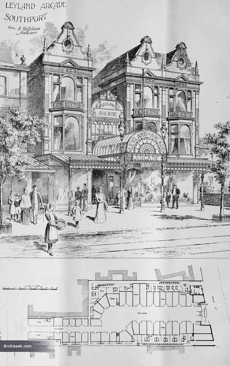 1898 – Wayfarers Arcade, Southport, Lancashire