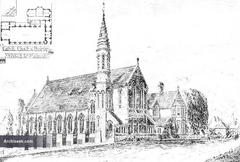 1885 – Church and Presbytery, Over Darwen, Lancashire