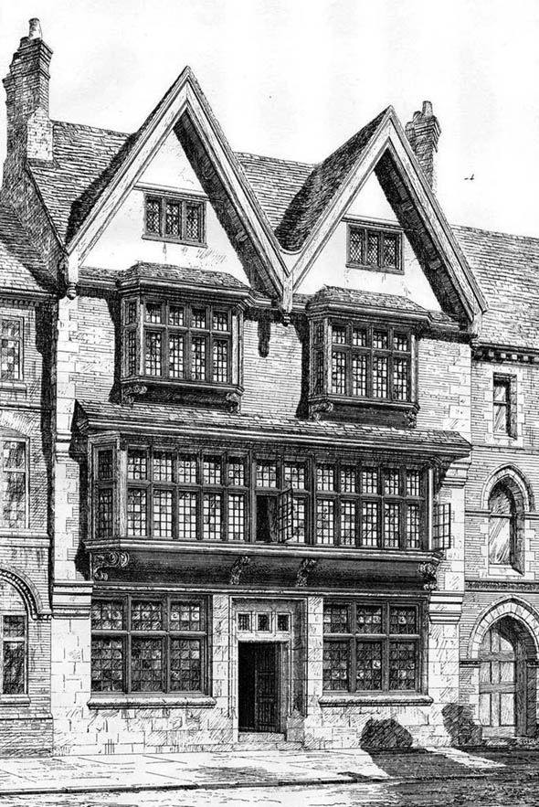 1878 &#8211; Offices, Grey Friars, Leicester, Leicestershire