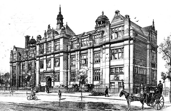 1896 &#8211; Technical &#038; Art Schools, Leicester, Leicestershire