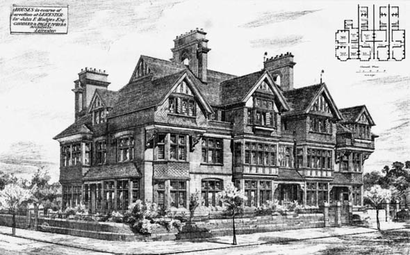 1881 – House, Leicester, Leicestershire