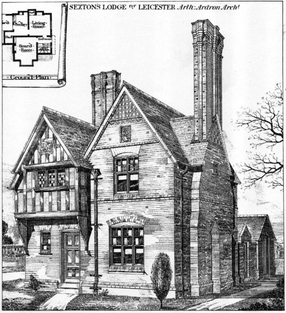 1879 &#8211; Sexton&#8217;s Lodge, Syston, Nr. Leicester, Leicestershire