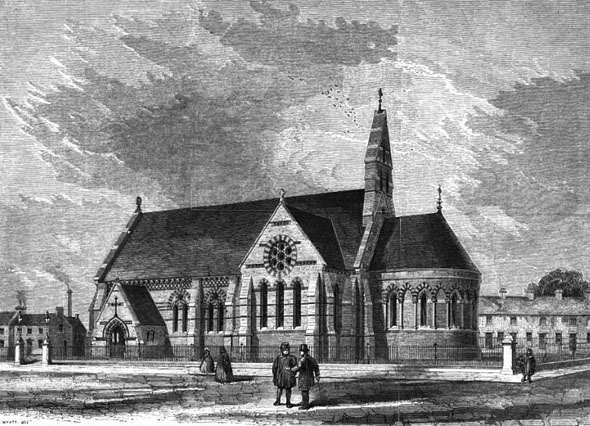 1862 – St. Andrew's Church, Leicester, Leicestershire