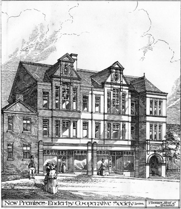 1887 &#8211; New Premises Co-operative Society, Enderby, Leicestershire