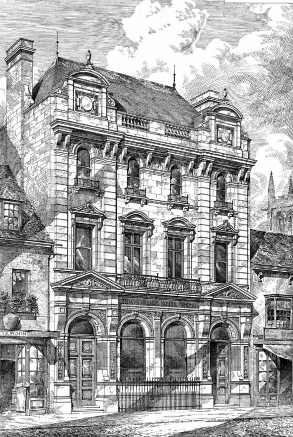 1881 &#8211; New Bank, Stamford, Lincolnshire
