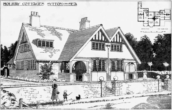 1906 &#8211; Holiday Cottages, Sutton on Sea, Lincolnshire