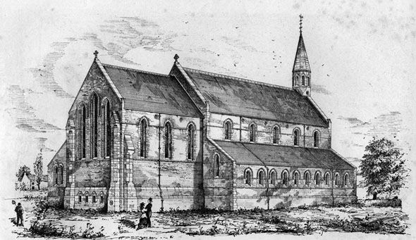 1874 – Church of St. John Baptist, Spalding, Lincolnshire