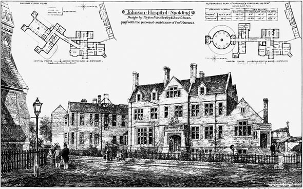 1879 &#8211; Johnson Hospital, Spalding, Lincolnshire