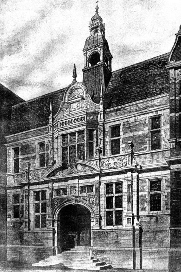 1886 school of science art lincoln architecture of