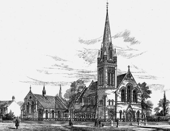 1888 &#8211; Wesleyan Church, Lincoln
