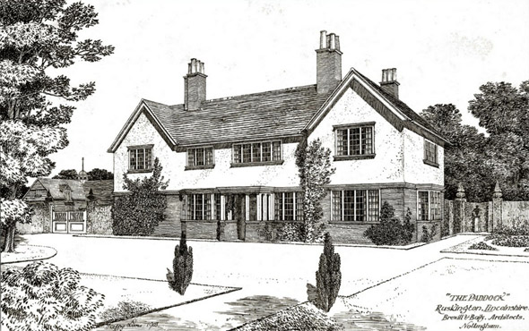 1903 &#8211; &#8220;The Paddock&#8221;, Ruskington, Lincolnshire