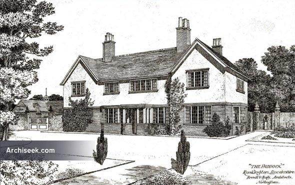 "1903 – ""The Paddock"", Ruskington, Lincolnshire"