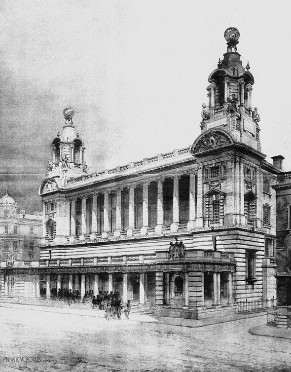 1906 &#8211; The New Cotton Exchange, Liverpool, Lancashire