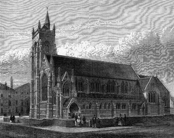 1873 &#8211; Church of St. Anne, Liverpool, Lancashire