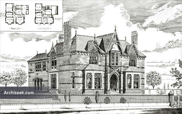 1886 – House at Sefton Park, Liverpool, Lancashire