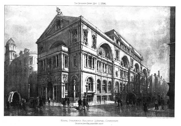1896 &#8211; Royal Insurance Building, Liverpool, Lancashire