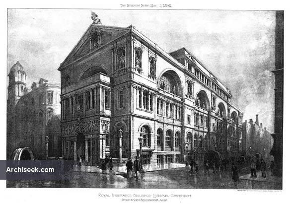 1896 – Royal Insurance Building, Liverpool, Lancashire