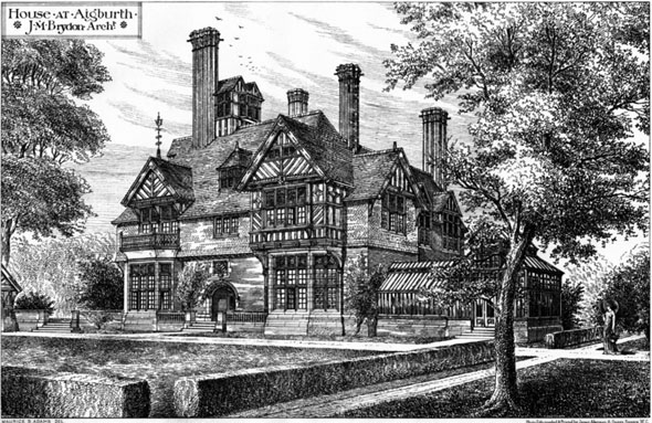 1880 – House, Aigburth, Liverpool, Lancashire
