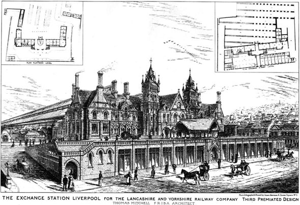 1881 &#8211; The Exchange Station, Liverpool, Lancashire