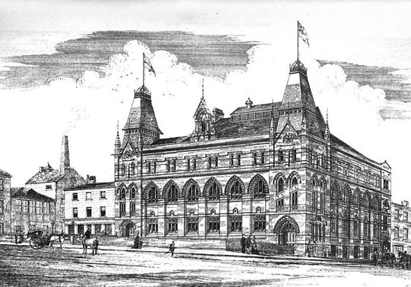 1875 – New League Hall, Liverpool, Lancashire