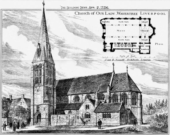 1886 – Church of Our Lady, Wavertree, Liverpool, Lancashire