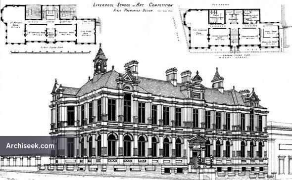 1881 – Liverpool School of Art, Lancashire