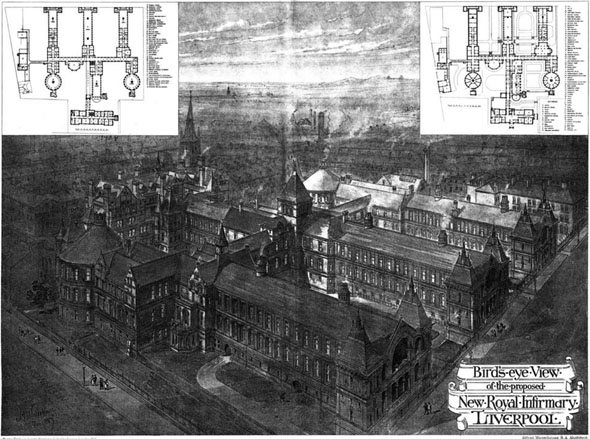 1887 – New Royal Infirmary, Liverpool