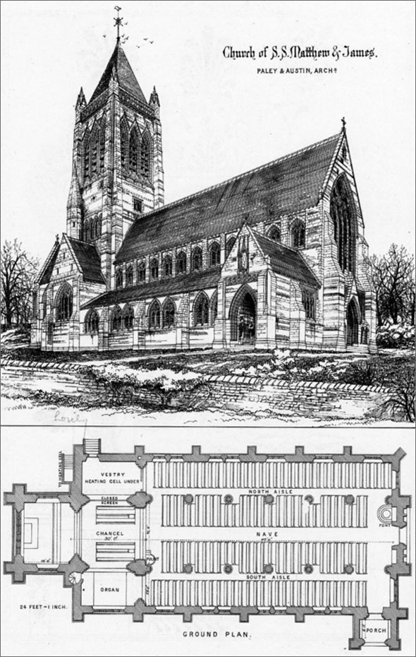1875 – Church of S.S. Matthew & St. James, Liverpool