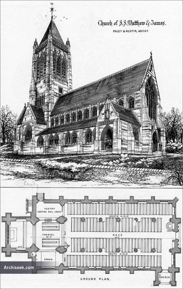 1875 – Church of S.S. Matthew & St. James, Liverpool