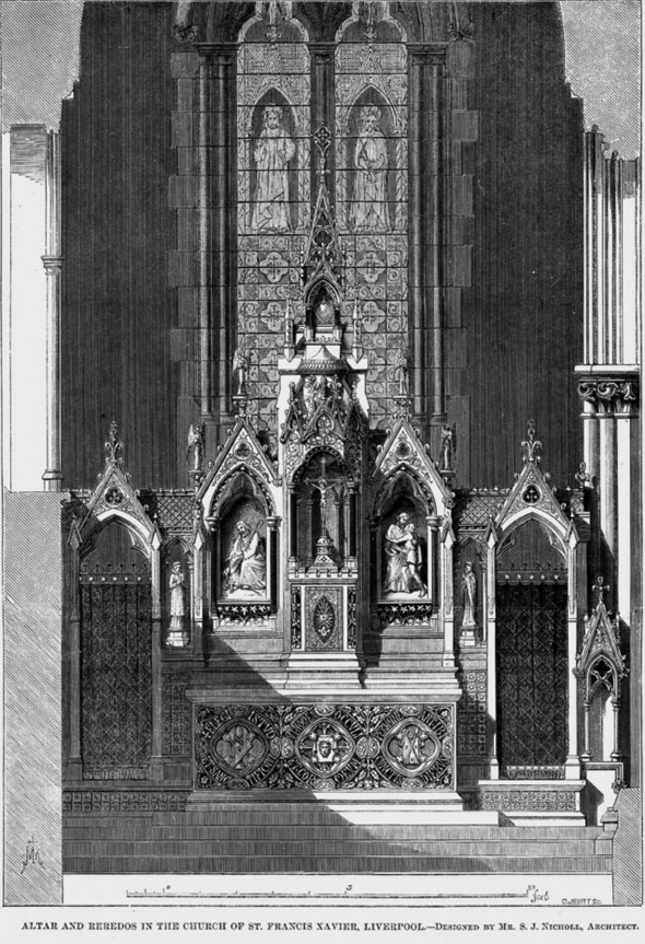 1858 – St. Francis Xavier Church, Liverpool, Lancashire