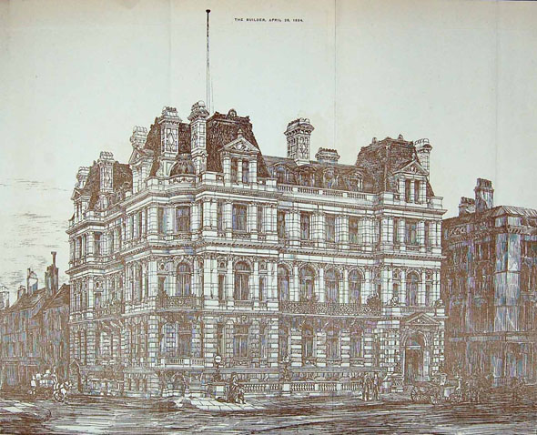 1884 – Conservative Club, Dale St., Liverpool