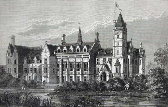 1874 &#8211; Seaman&#8217;s Orphanage, Newsham Park, Liverpool
