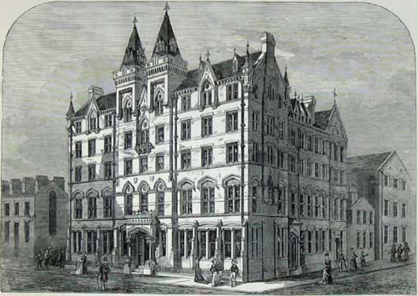 1876 – Sailors Home, Liverpool