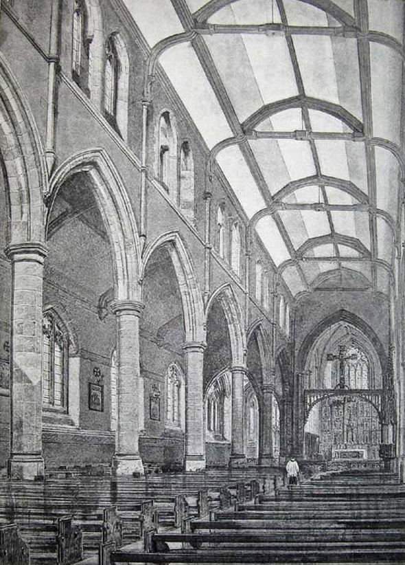 1886 &#8211; St James Church, Bootle, Liverpool